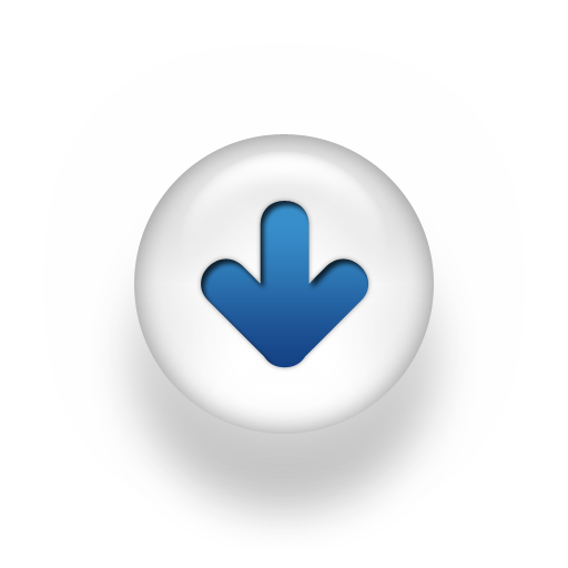 blue-white-pearl-icon-arrow-down